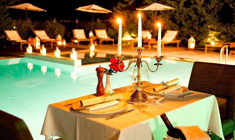 Corfu Mare Boutique Hotel dinner