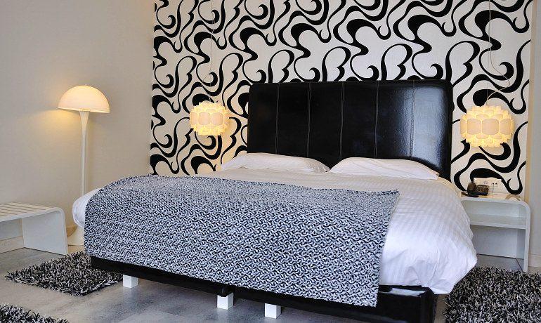 Corfu Mare Boutique Hotel junior suite noir