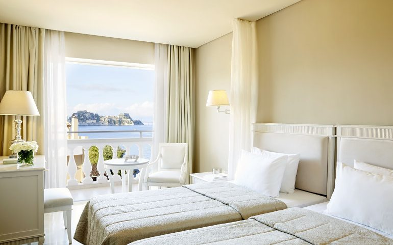 Mayor Mon Repos Palace hotel double room sea view