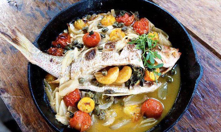 San Giorgio hotel Mykonos food