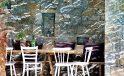 San Giorgio hotel Mykonos restaurant tables