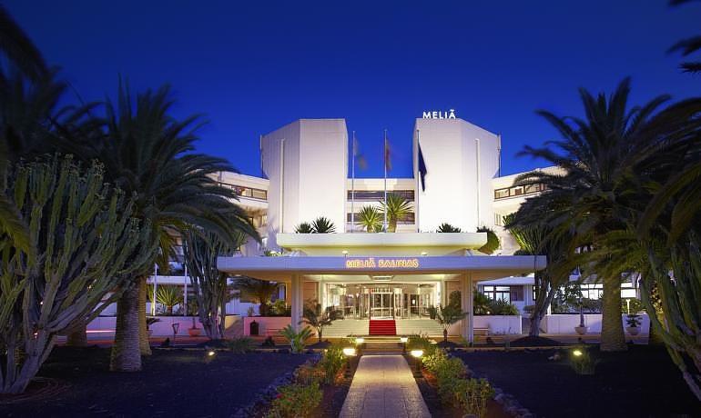 Meliá Salinas hotel entrance