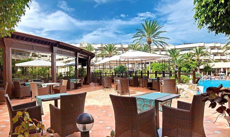 Barceló Corralejo Bay restaurant terrace