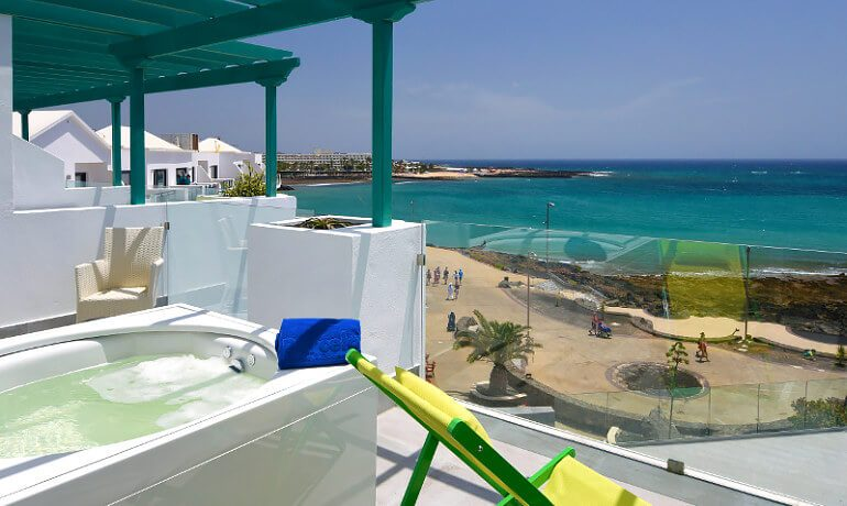 Barceló Teguise Beach room with balcony and terrace