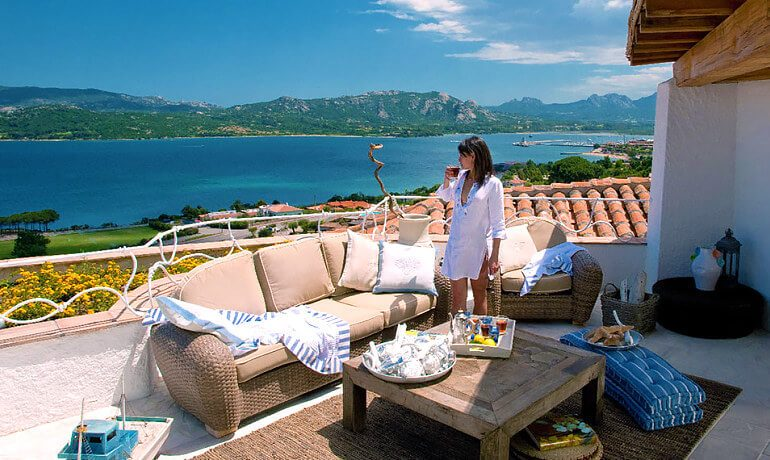 Hotel Relais Villa del Golfo Spa balcony sea view