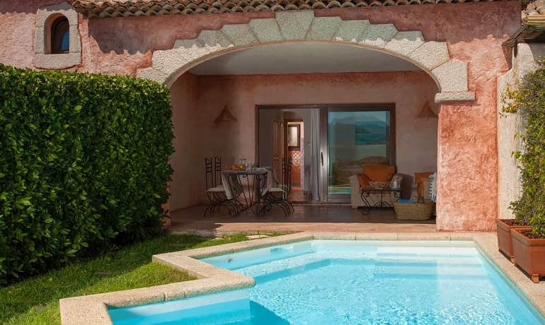 Hotel Relais Villa del Golfo Spa senior suite with private pool