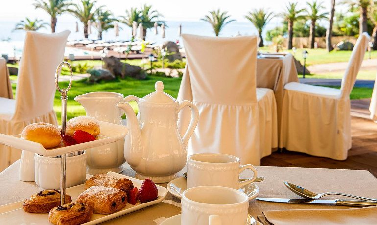 La Villa del Re hotel breakfast