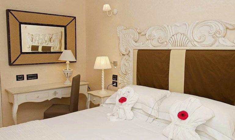 La Villa del Re hotel deluxe room