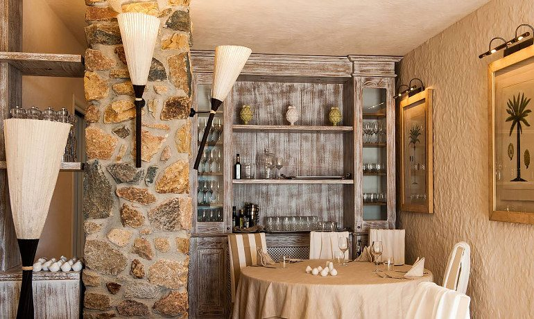 La Villa del Re hotel La Palme restaurant