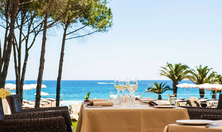 La Villa del Re hotel romantic lunch