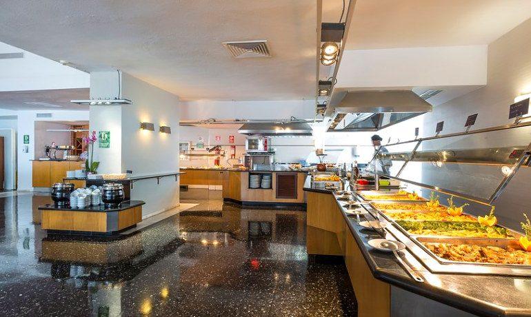 Palladium Hotel Don Carlos buffet mar i cel gastronomy