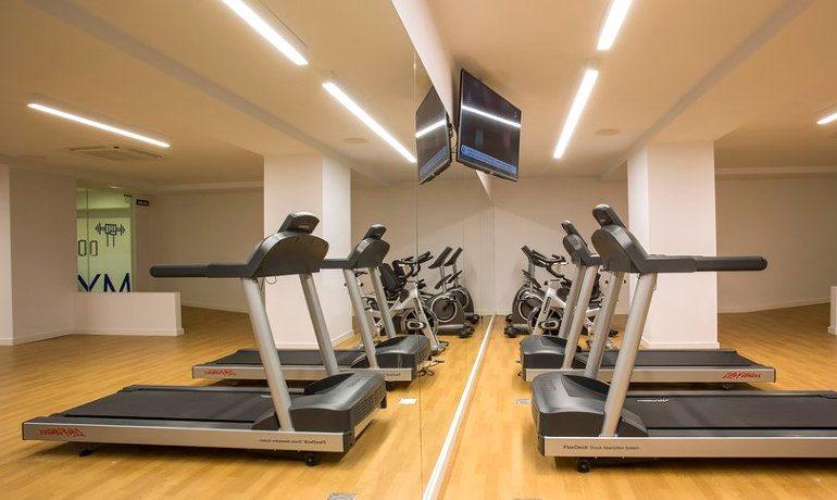 Palladium Hotel Palmyra gym