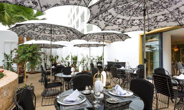Palladium Hotel Palmyra heavens garden a la carte restaurant terrace