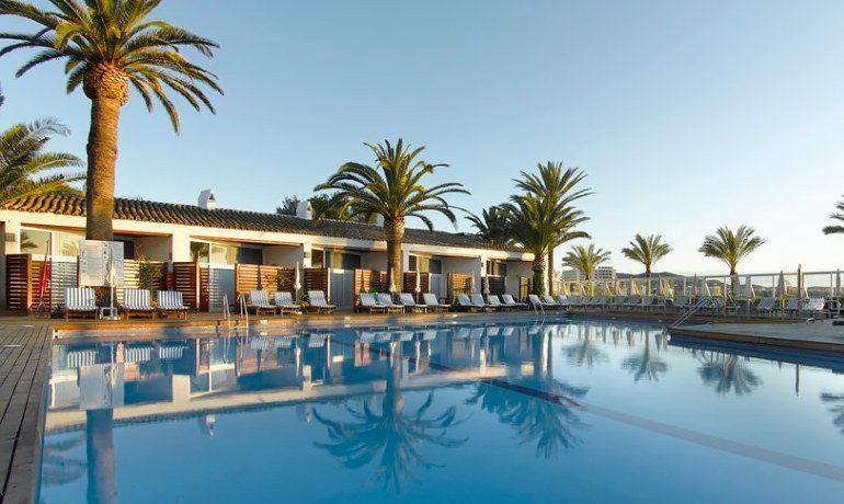 Palladium Hotel Palmyra pool bungalows