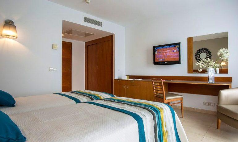 Palladium Hotel Palmyra standard double room view