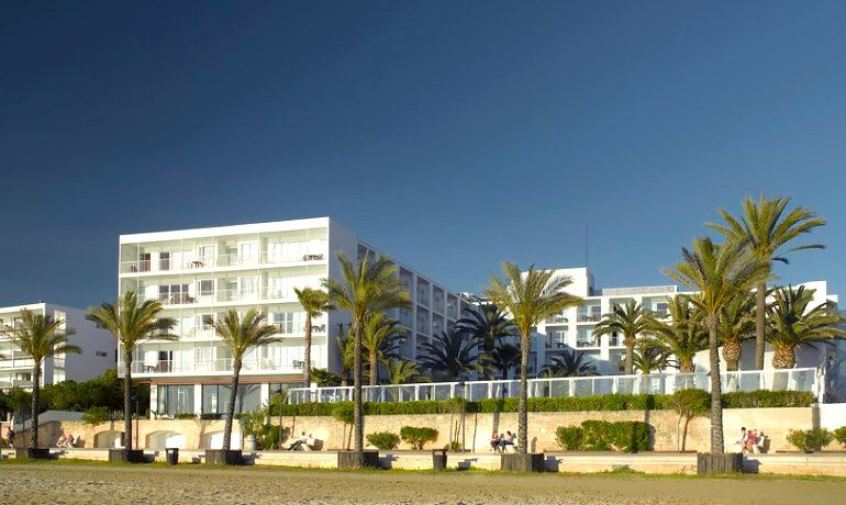 Palladium Hotel Palmyra view from the beach