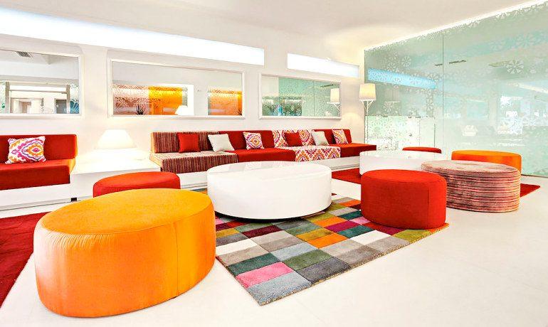 Sensimar Ibiza Beach Resort lounge bar area