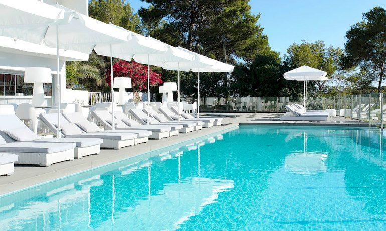 Sensimar Ibiza Beach Resort pool sunbeds