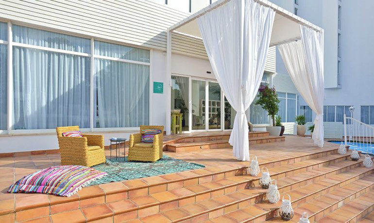 Sol Beach House Ibiza entrance