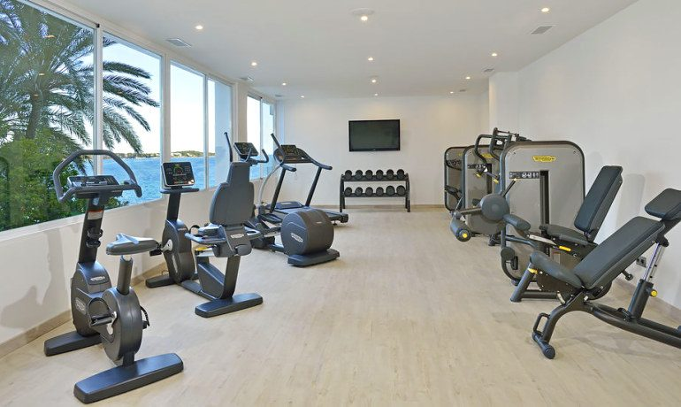 Sol Beach House Ibiza gym
