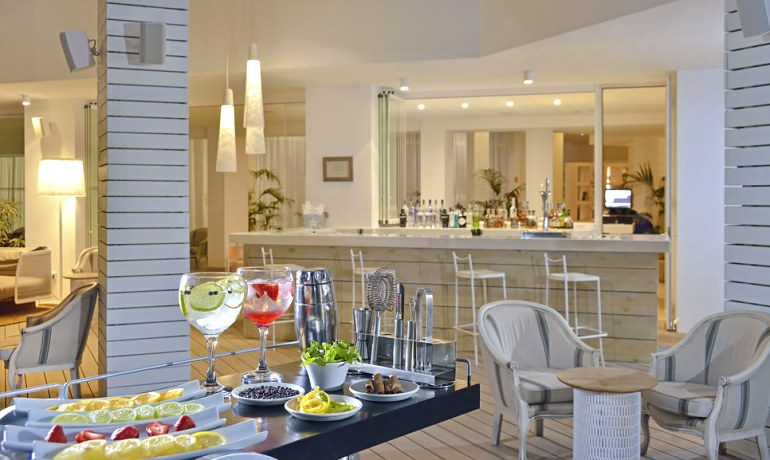 Sol Beach House Ibiza lobby bar