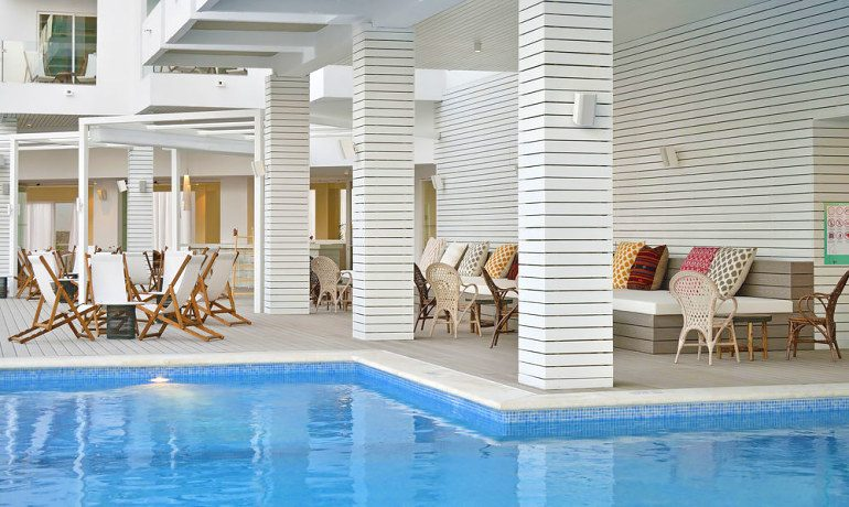 Sol Beach House Ibiza pool area