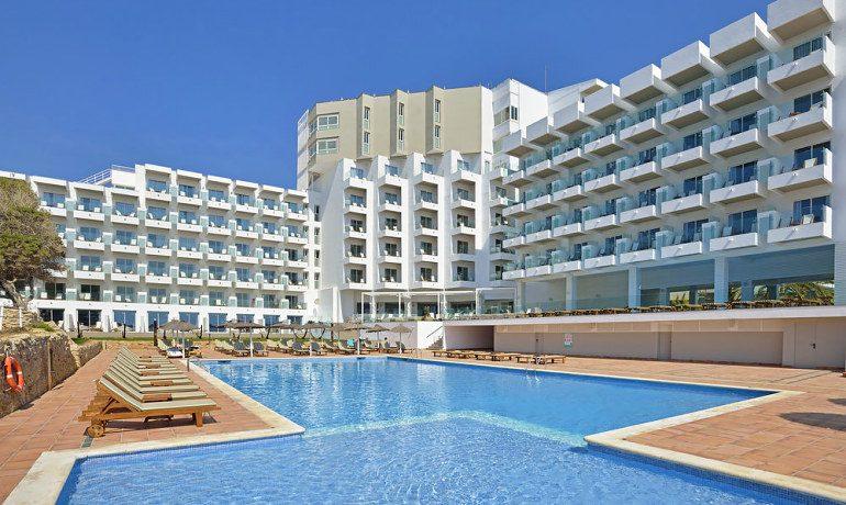 Sol Beach House Ibiza pool view