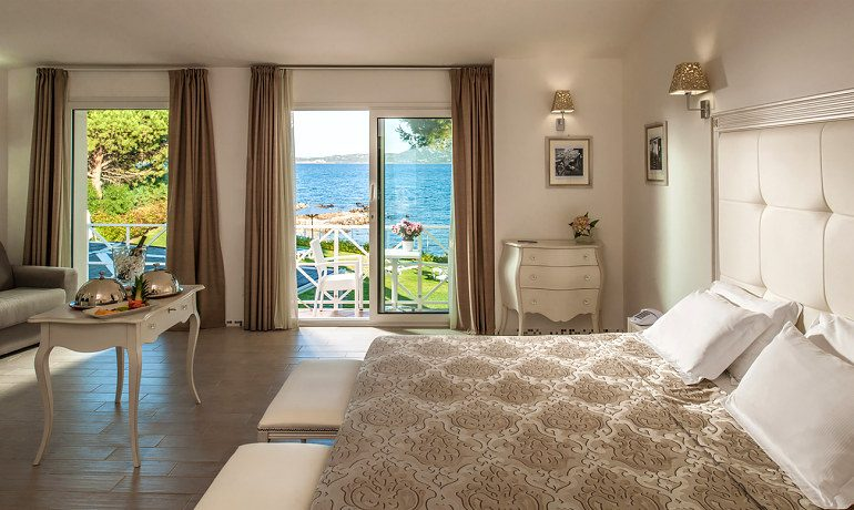 The Pelican Beach Resort Spa suite with sea view