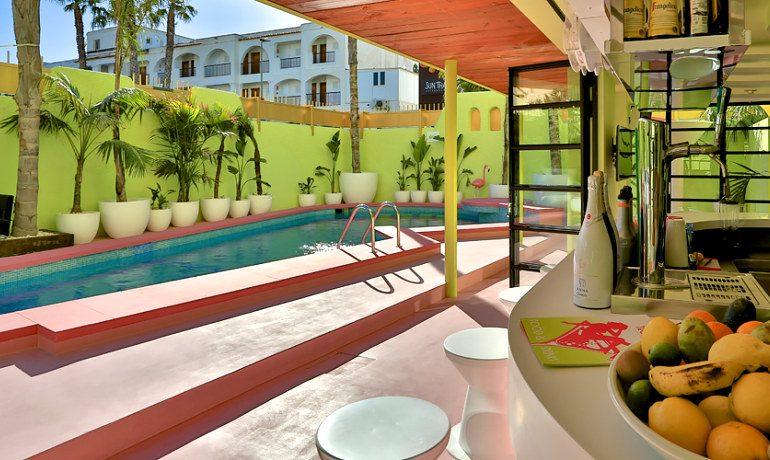 Tropicana Ibiza Coast Suites bar terrace