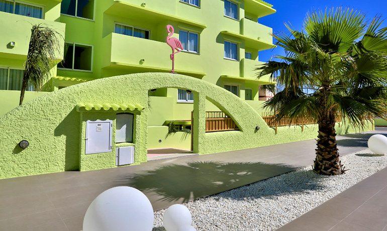 Tropicana Ibiza Coast Suites entrance