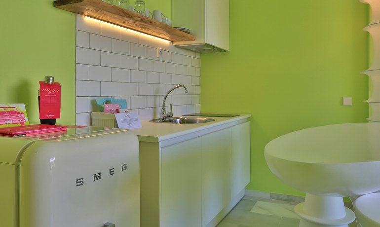 Tropicana Ibiza Coast Suites junior suite kitchen