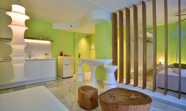 Tropicana Ibiza Coast Suites junior suite living room