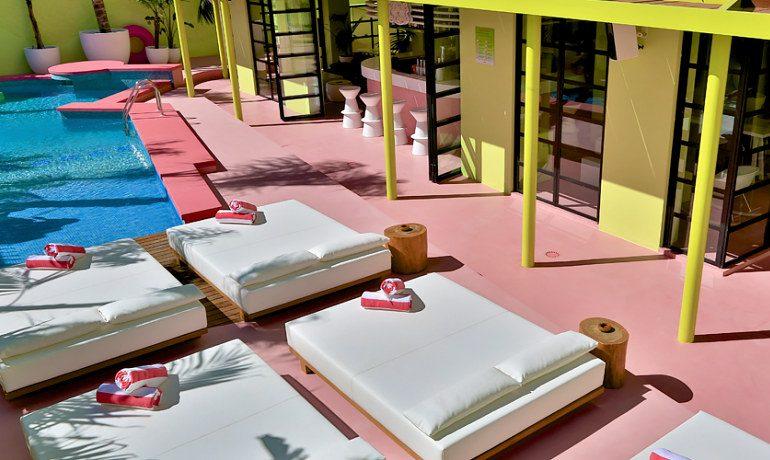 Tropicana Ibiza Coast Suites sunbeds