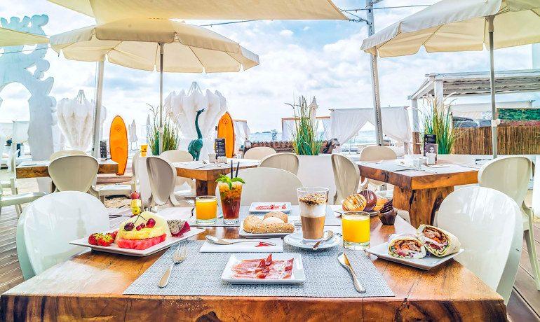 Ushuaia Ibiza Beach Hotel breakfast