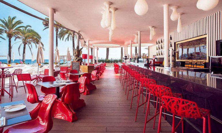 Ushuaia Ibiza Beach Hotel oyster caviar bar