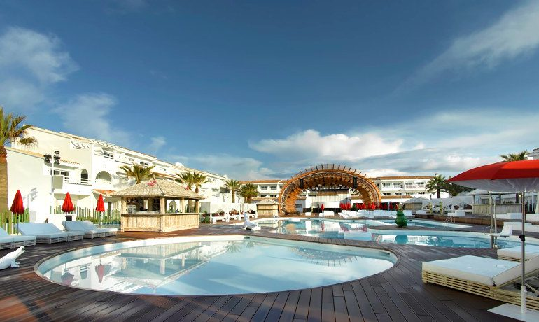 Ushuaia Ibiza Beach Hotel pool zone