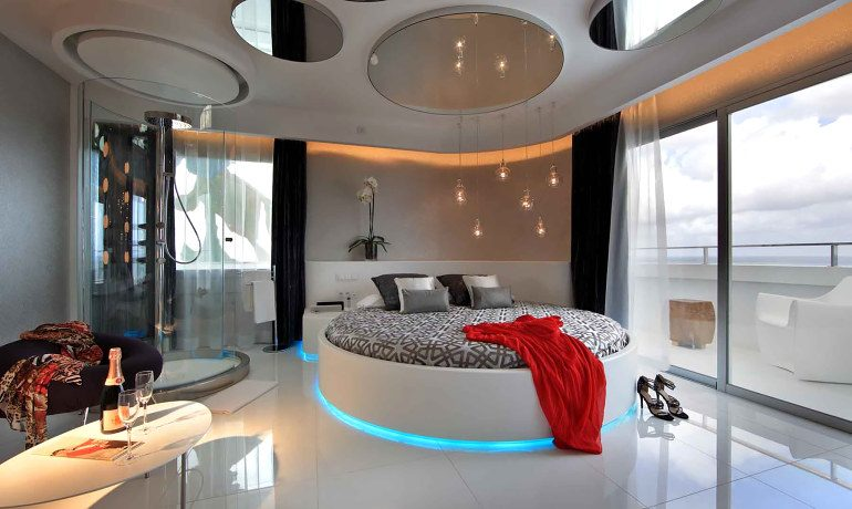 Ushuaia Ibiza Beach Hotel tower fashion victim suite