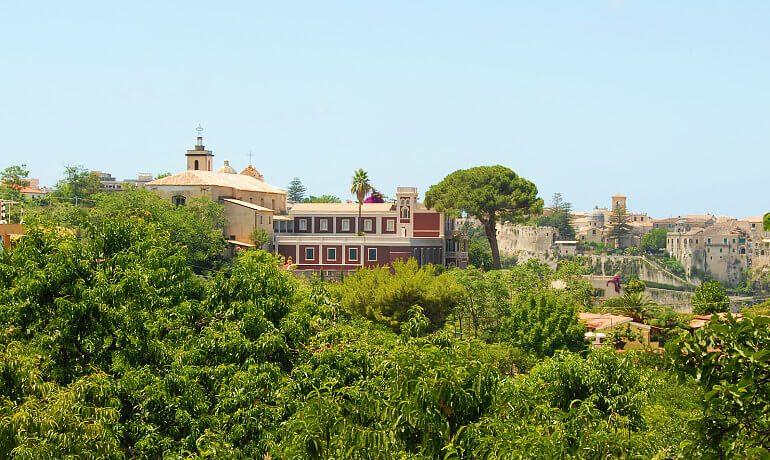 Villa Paola hotel view