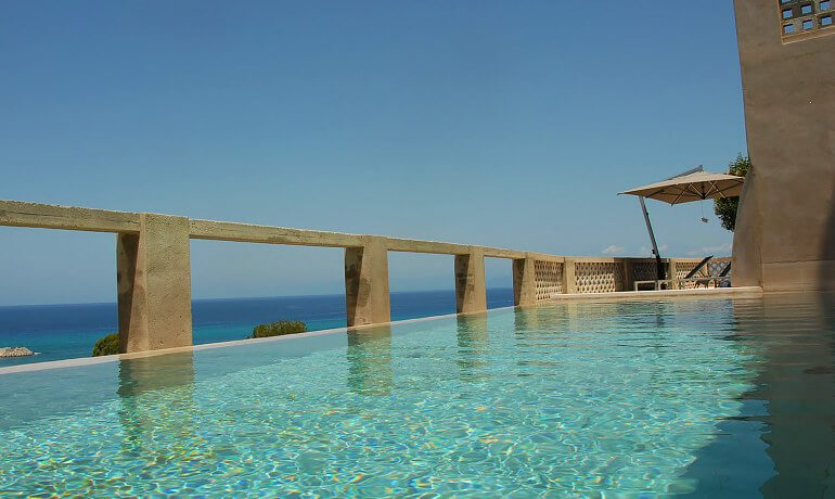 Villa Paola pool area