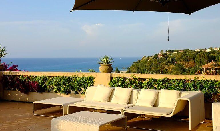 Villa Paola terrace