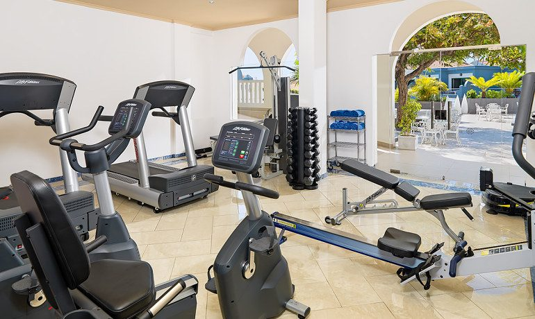 Colon Guanahani gym