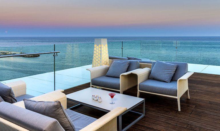 Amare Marbella Beach Hotel Belvue rooftop bar terrace