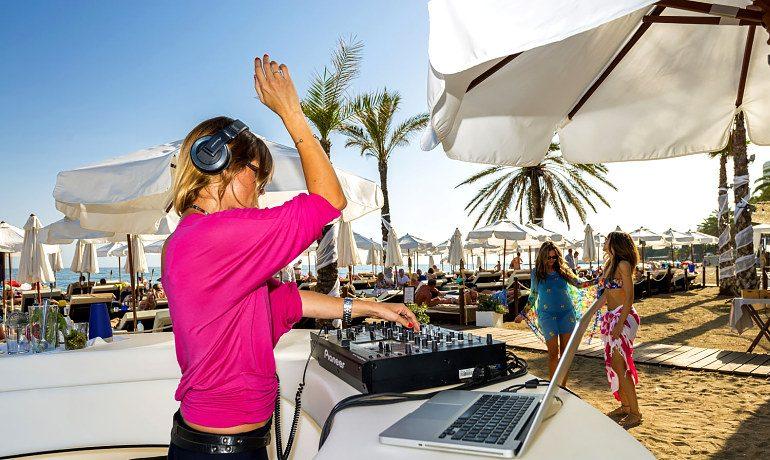 Amare Marbella Beach Hotel dj