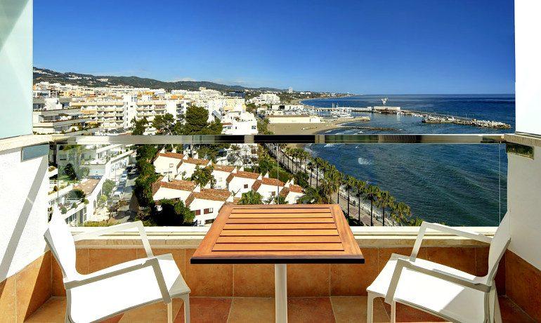Amare Marbella Beach Hotel Dolce Vita room balcony