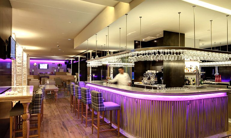 Amare Marbella Beach Hotel lounge bar