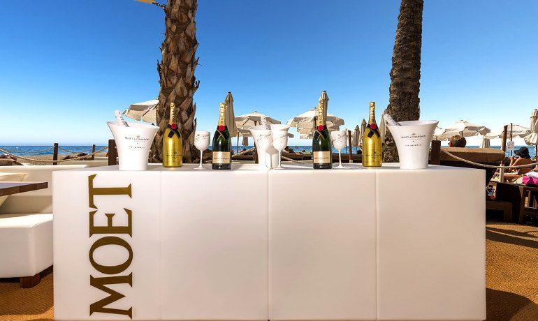 Amare Marbella Beach Hotel Moet bar