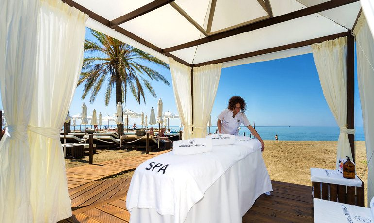 Amare Marbella Beach Hotel outdoor massage