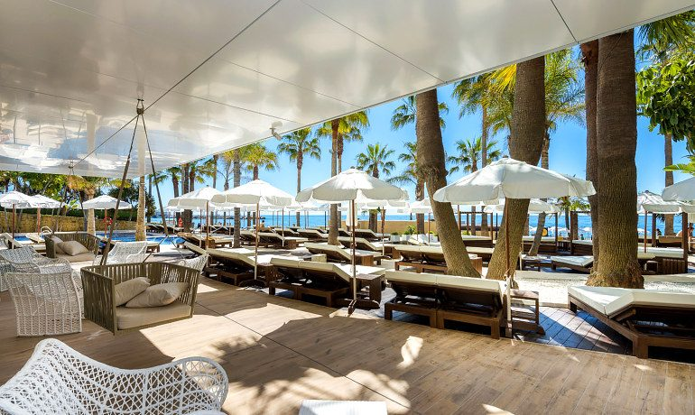 Amare Marbella Beach Hotel relax area