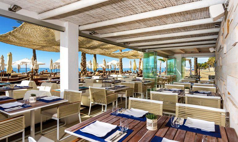 Amare Marbella Beach Hotel restaurant