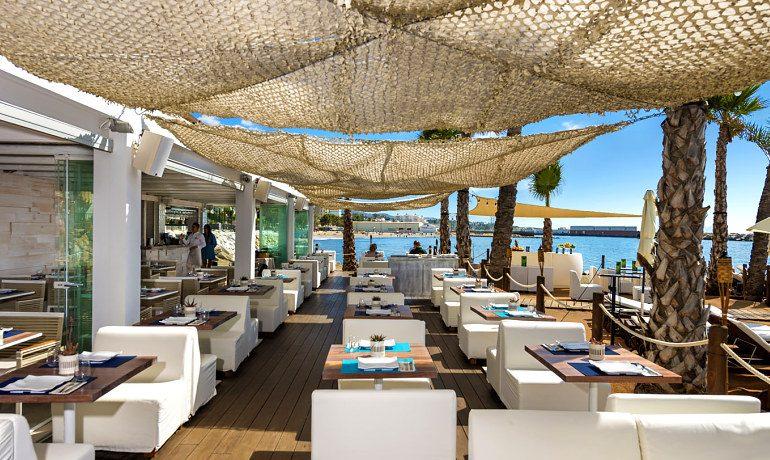 Amare Marbella Beach Hotel restaurant view